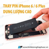 Thay Pin ZIN / Pin dung lượng cao cho iPhone 6 / 6 Plus...